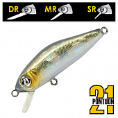 Crackjack 38F-SR Воблер Pontoon 21 Crackjack 38F-SR 2,3gr #R30