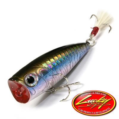 Bevy Popper Воблер Lucky Craft Bevy Popper 4,2gr #254 MS MJ Herring 234