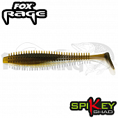 Rage Spikey Shad 3,5''/90mm Мягкие приманки Fox Rage Spikey Shad Bulk 3,5''/90mm #Arkansas Shiner (1 шт в уп)