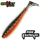 Rage Spikey Shad 3,5''/90mm Мягкие приманки Fox Rage Spikey Shad Bulk 3,5''/90mm #Glitterbug (1 шт в уп)