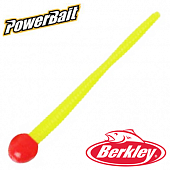 PowerBait Floating Mice Tail 3'' Мягкие приманки Berkley PowerBait Mice Tail 3'' #Fluorescent Red/Chartreuse