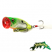 Pike Pop 60 SH-002BA Воблер Strike Pro Pike Pop 60 5.8gr SH-002BA #A133T