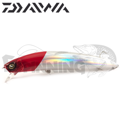 Morethan X-Cross 95SSR-F Воблер Daiwa Morethan X-Cross 95SSR-F 12gr #Laser Metal Red Head