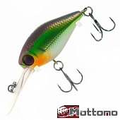 Chubber DR 36F Воблер Mottomo Chubber DR 36F 4,0gr #Light Green