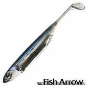 Flash J Shad 3'' SW Мягкие приманки Fish Arrow Flash J Shad 3'' SW #105 Maiwashi/Silver (5 шт в уп)