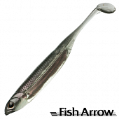 Flash J Shad 3'' SW Мягкие приманки Fish Arrow Flash J Shad 3'' SW #104 Katakuchi Iwashi/Silver (5 шт в уп)