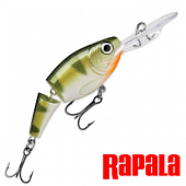 Jointed Shad Rap JSR05 Воблер RapaIa Jointed Shad Rap #JSR05-YP