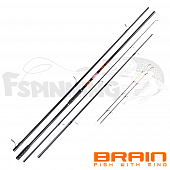 Apex Double Карповое/фидерное удилище Brain Apex Double 2.7m carp-3lb/feeder-120gr