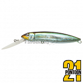 Moby Dick 100F-DR Воблер Pontoon 21 Moby Dick 100F-DR 18,5gr #005