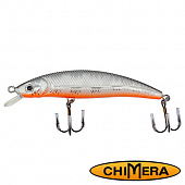 Fat Minnow 100FL Воблер Chimera Siver Fox Fat Minoow 100FL 13,0gr #009