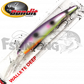 Walleye Deep Воблер Bandit Walleye Deep 17,7gr/8,1m #2A43 Pinky Dots