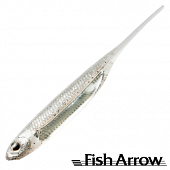 Flash J 3'' SW Мягкие приманки Fish Arrow Flash J 3'' SW #100 Shirasu/Silver (5 шт в уп)
