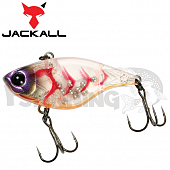 Chubby Vibration Воблер Jackall Chubby Vibration 4,8gr #clear shrimp