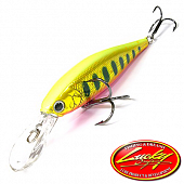 Pointer 78DD Воблер Lucky Craft Pointer 78DD 9,6gr #860 Yellow Pink Red Rainbow