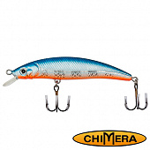 Fat Minnow 100FL Воблер Chimera Siver Fox Fat Minoow 100FL 13,0gr #004