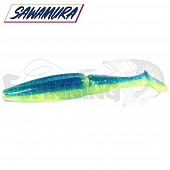 One'up Shad 4'' Мягкие приманки Sawamura One'up Shad 4'' #158 (6шт в уп)