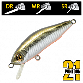 Crackjack 78SP-SR Воблер Pontoon 21 Crackjack 78SP-SR 10,8gr #R60