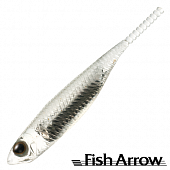 Flash J 1'' SW Мягкие приманки Fish Arrow Flash J 1'' SW #110 Clear/Silver (5 шт в уп)