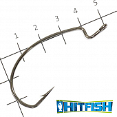LW Power Offset Hook Офсетные крючки Hitfish LW Power Offset Hook #4/0 (6шт в уп)