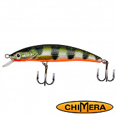 Fat Minnow 100FL Воблер Chimera Siver Fox Fat Minoow 100FL 13,0gr #008