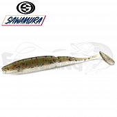 One'Up Shad Slim 4'' Мягкие приманки Sawamura One'up Shad Slim 4'' #070 (6шт в уп)