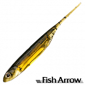 Flash J 3'' Мягкие приманки Fish Arrow Flash J 3'' #15 Wm/Gold (7 шт в уп)