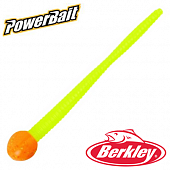 PowerBait Floating Mice Tail 3'' Мягкие приманки Berkley PowerBait Mice Tail 3'' #Orange Silver/Chartreuse