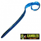 Ribbon Tail 10'' Мягкие приманки Gambler Ribbon Tail 10'' #Kissimmee Blue (10 шт в уп)