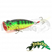 Pike Pop Mini 45 SH-002B Воблер Strike Pro Pike Pop Mini 45 4gr SH-002B#A45T