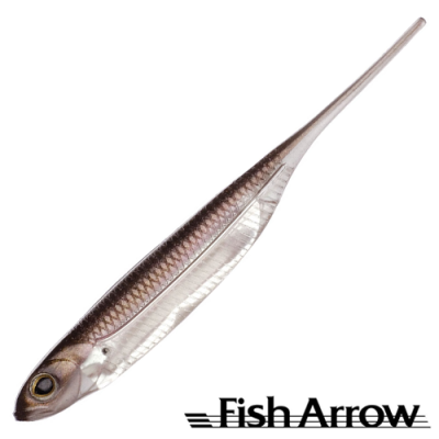 Flash J 5'' Мягкие приманки Fish Arrow Flash J 5'' #07 Wakasagi/Silver (4 шт в уп)