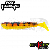 Rage Spikey Shad 3,5''/90mm Мягкие приманки Fox Rage Spikey Shad Bulk 3,5''/90mm #Hot Tiger (1 шт в уп)