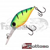 Chubber DR 36F Воблер Mottomo Chubber DR 36F 4,0gr #Lime Tiger