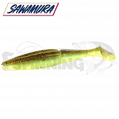 One'up Shad 4'' Мягкие приманки Sawamura One'up Shad 4'' #154 (6шт в уп)