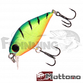 Chubber 36F Воблер Mottomo Chubber 36F 3,8gr #Lime Tiger