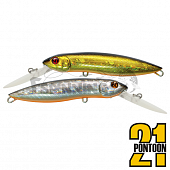 Moby Dick 120F-DR Воблер Pontoon 21 Moby Dick 120F-DR 31,8gr #111