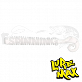 Cheeky Worm 4'' Мягкие приманки LureMax Cheeky Worm 4'' #020 Glow White (10 шт в уп)