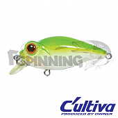 Bug Eye Bait 48F Воблер C'ultiva Bug Eye Bait BB-48F цвет 57 (6,5г) 48мм