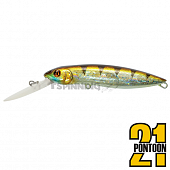 Moby Dick 120F-DR Воблер Pontoon 21 Moby Dick 120F-DR 31,8gr #107