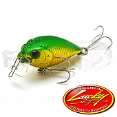 Shallow Cra-Pea Воблер Lucky Craft Shallow Cra-Pea AM 3.2gr #AM Green 553