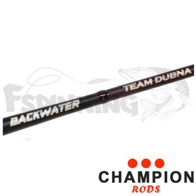 Спиннинг Champion Rods Team Dubna Backwater 2.4m/2-15gr/3-12lb TDB-802L  jig купить в интернет-магазине