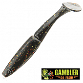 Big EZ Мягкие приманки Gambler Big EZ 5'' #Golden Roach (5 шт в уп)
