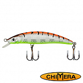 Fat Minnow 100FL Воблер Chimera Siver Fox Fat Minoow 100FL 13,0gr #007