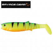 LB Cannibal Shad 125mm/20gr Мягкие приманки Savage Gear LB Cannibal Shad 125mm/20gr #020 Firetiger (1шт в уп)