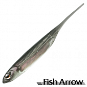 Flash J 3'' SW Мягкие приманки Fish Arrow Flash J 3'' SW #104 Katakuchi Iwashi/Silver (5 шт в уп)