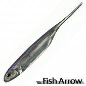 Flash J 3'' Мягкие приманки Fish Arrow Flash J 3'' #25 Lake Wakasagi/Silver (7 шт в уп)