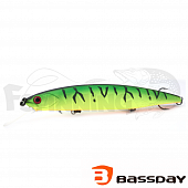 Воблер Bassday Mogul Minnow 110SP 17,0gr #P-212 Hot Tiger - купить в Москве
