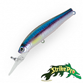 Solid Tail Deep 66S JS-256 Воблер Strike Pro Solid Tail Deep 66S 7,2gr JS-256#A210-SBO-RP