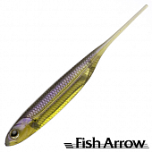 Flash J 5'' Мягкие приманки Fish Arrow Flash J 5'' #05 Purple Weenie/Silver (4 шт в уп)