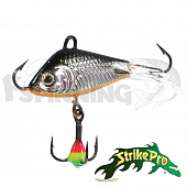 Стоп-цена Балансир Strike Pro Shifty Shad Ice 40D 40mm/21.7gr #A70E