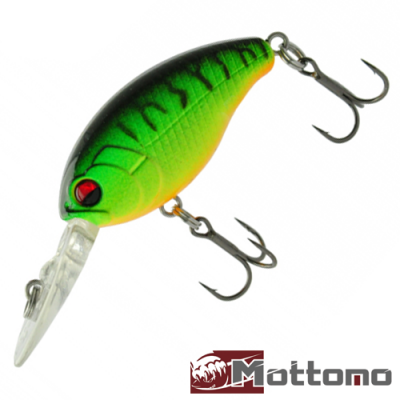Crasher 60F Воблер Mottomo Crasher 60F 5,5gr #Mat Tiger